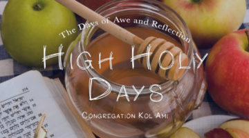 high holy days graphic