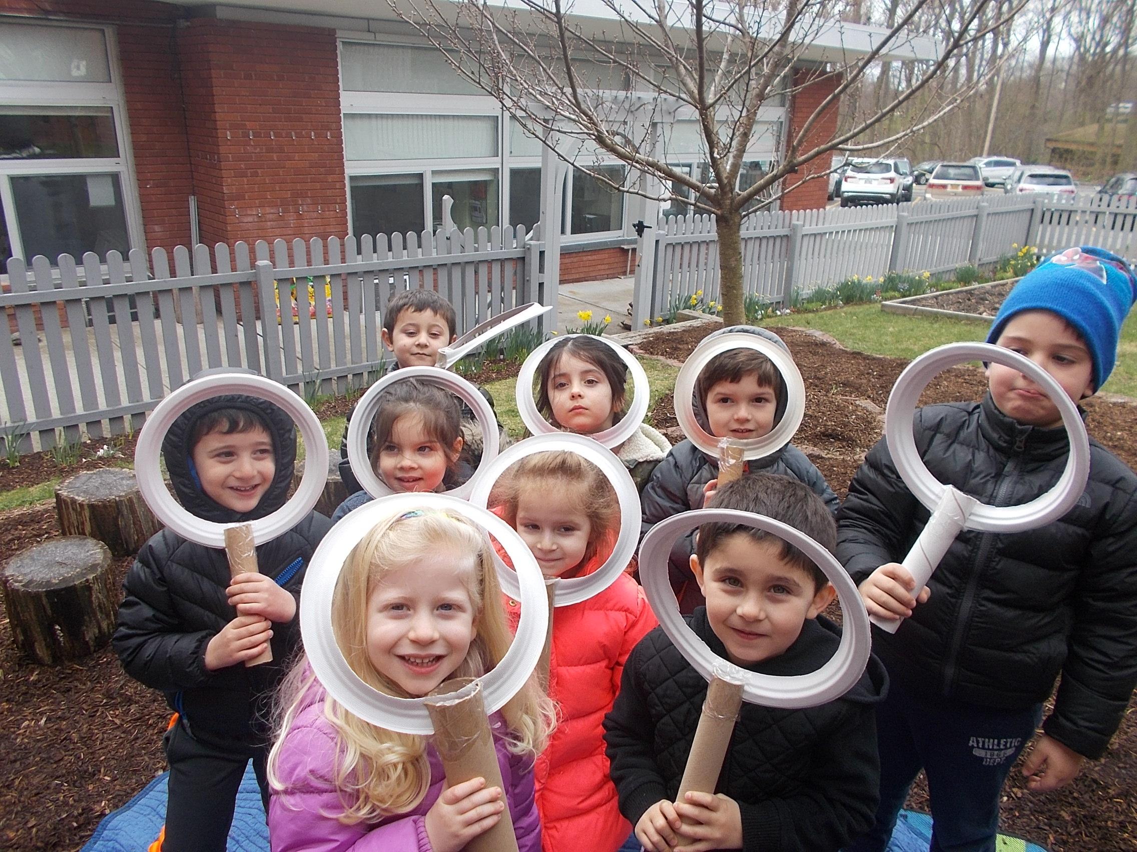 Smiling Preschoolers Westchester Jewish Nursery School