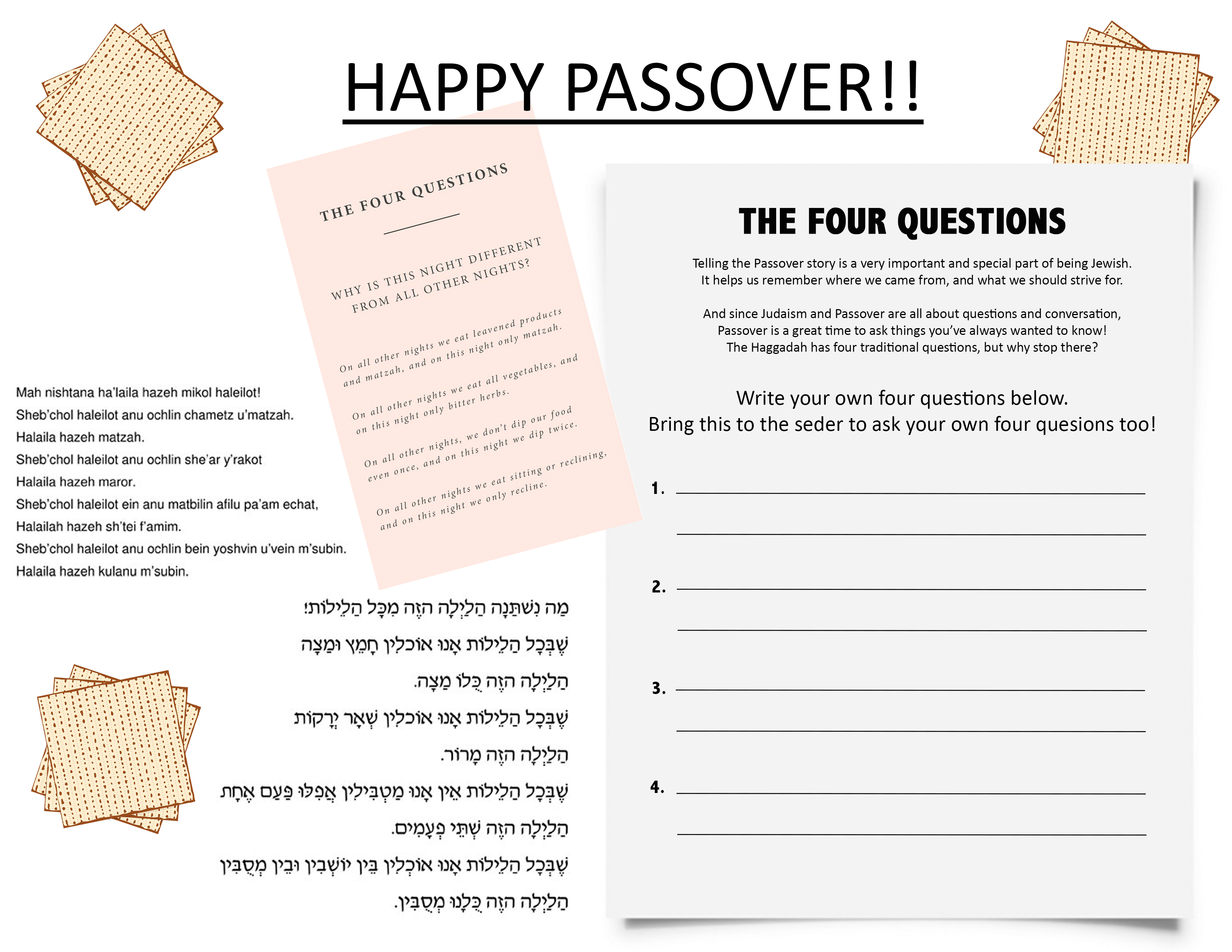 Passover - Congregation Kol Ami of Westchester