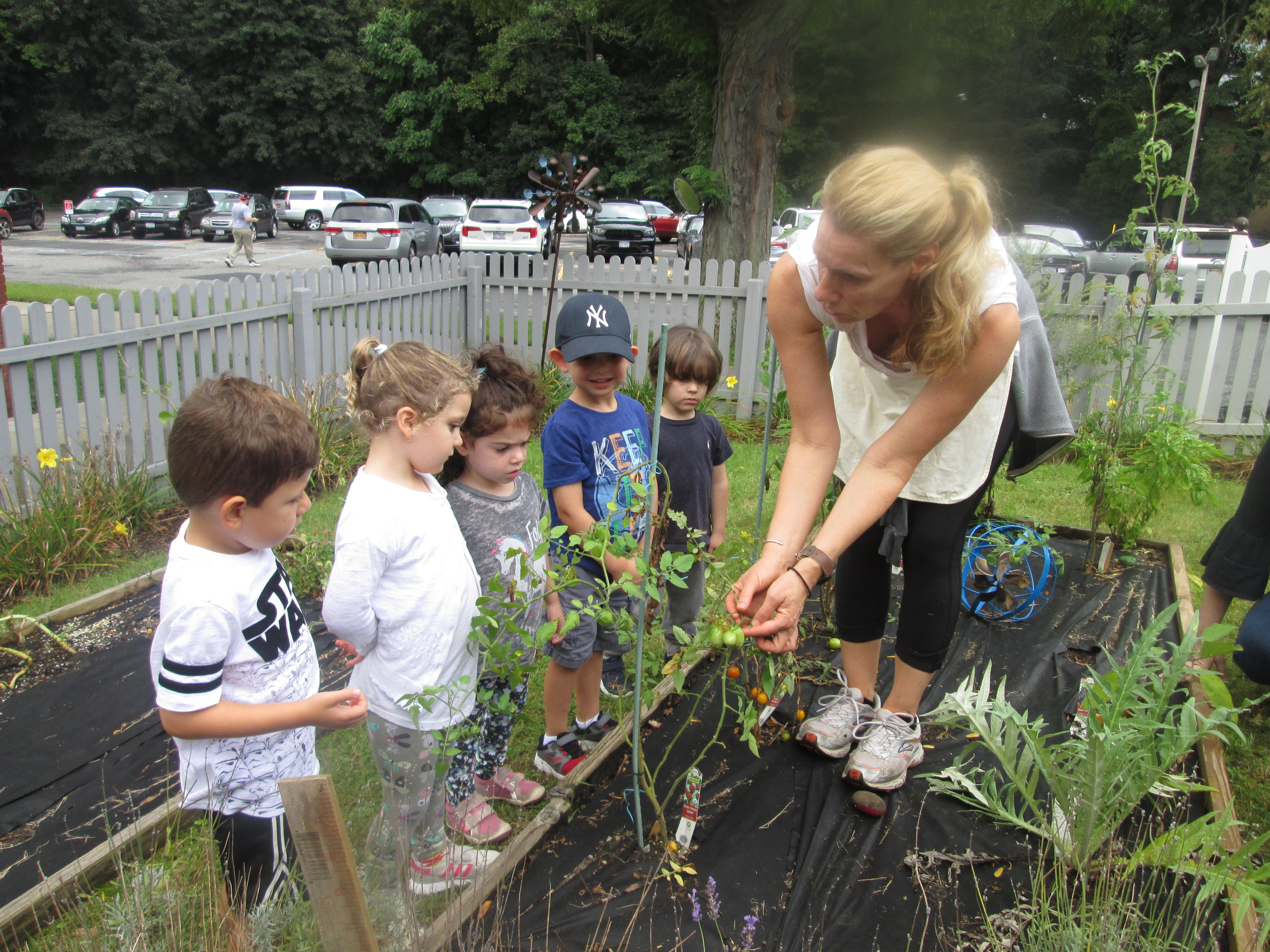 Kol Ami Early Childhood Program Gardening