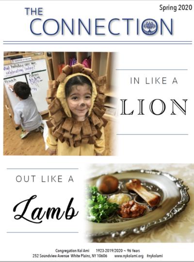 Congregation Kol Ami Spring 2020 Newsletter