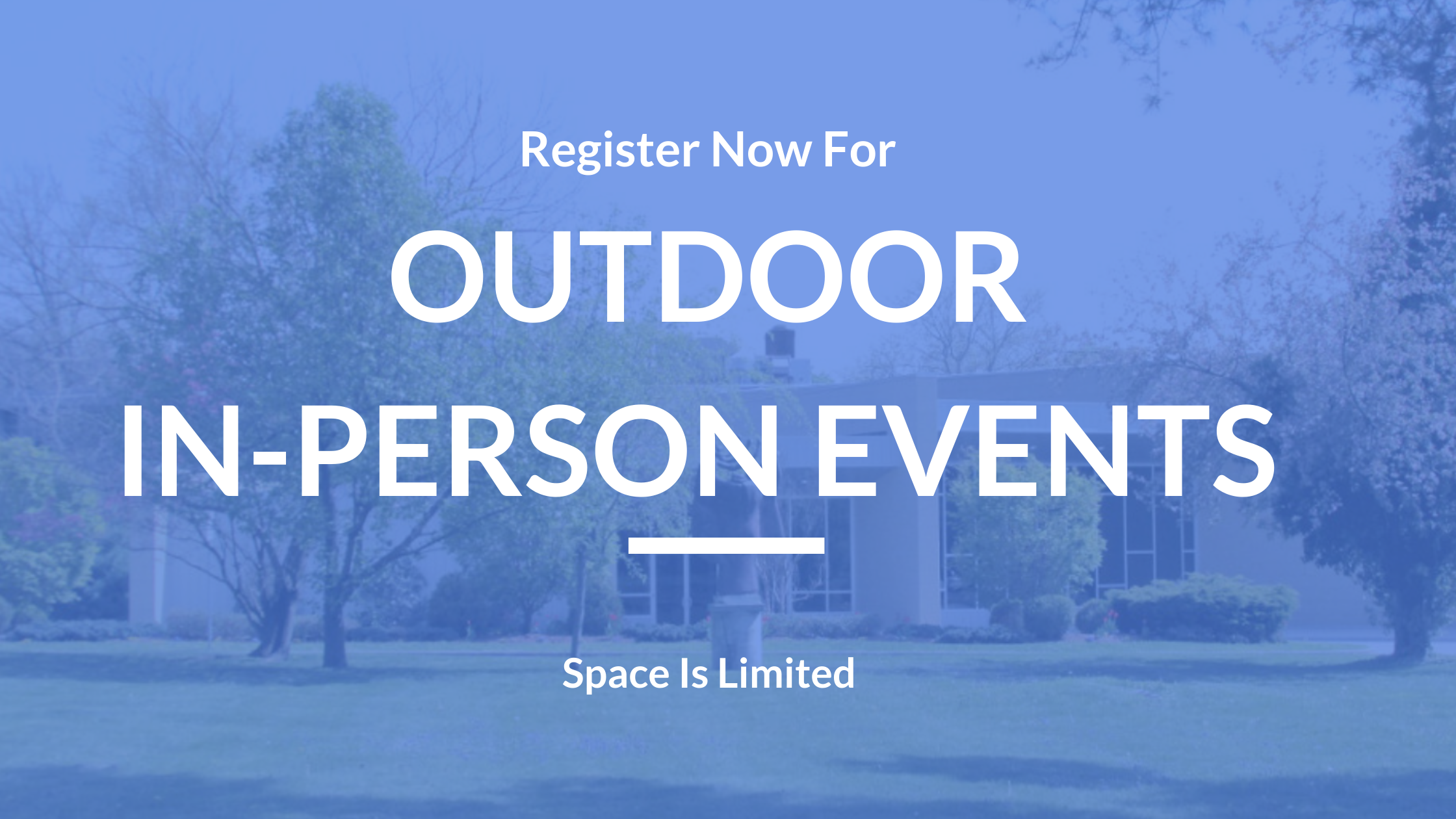 Register For Outdoor Events