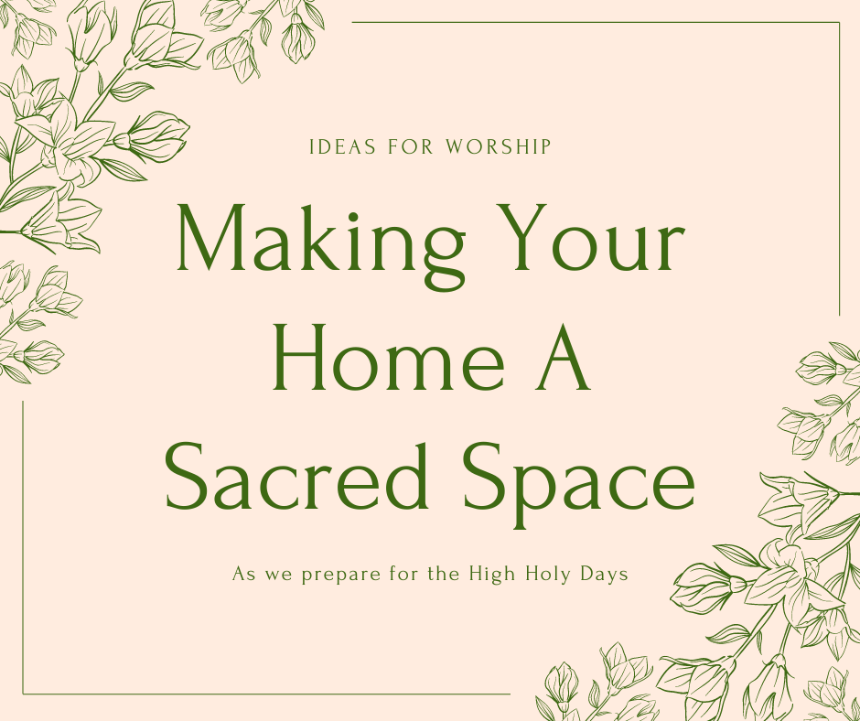 Making Your Home A Sacred Space