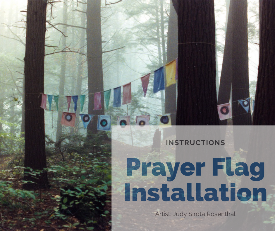 Prayer Flag Installation