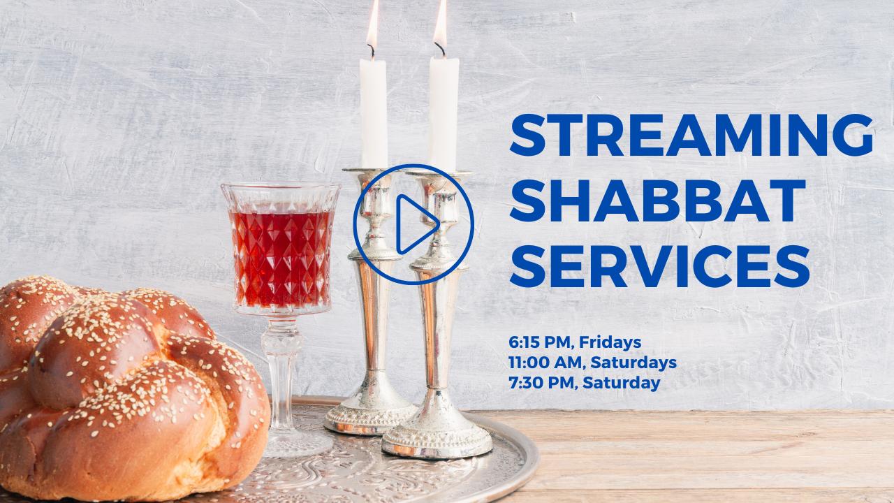 Congregation Kol Ami Streaming Shabbat Services