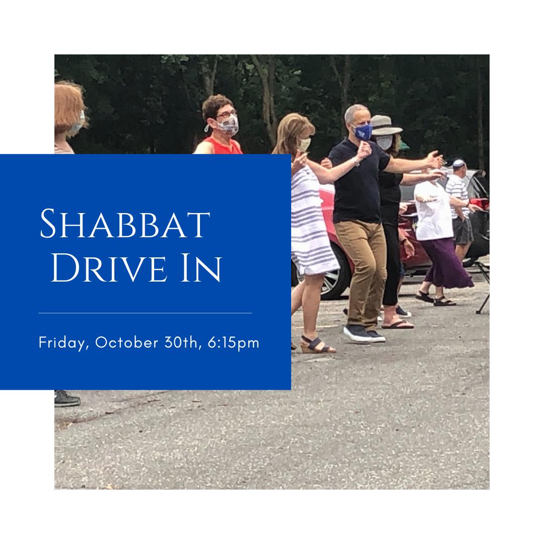 Registration Shabbat Drive In