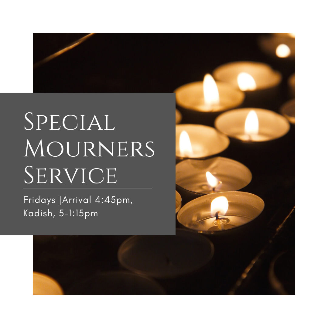 Registration - Special Mourners Service