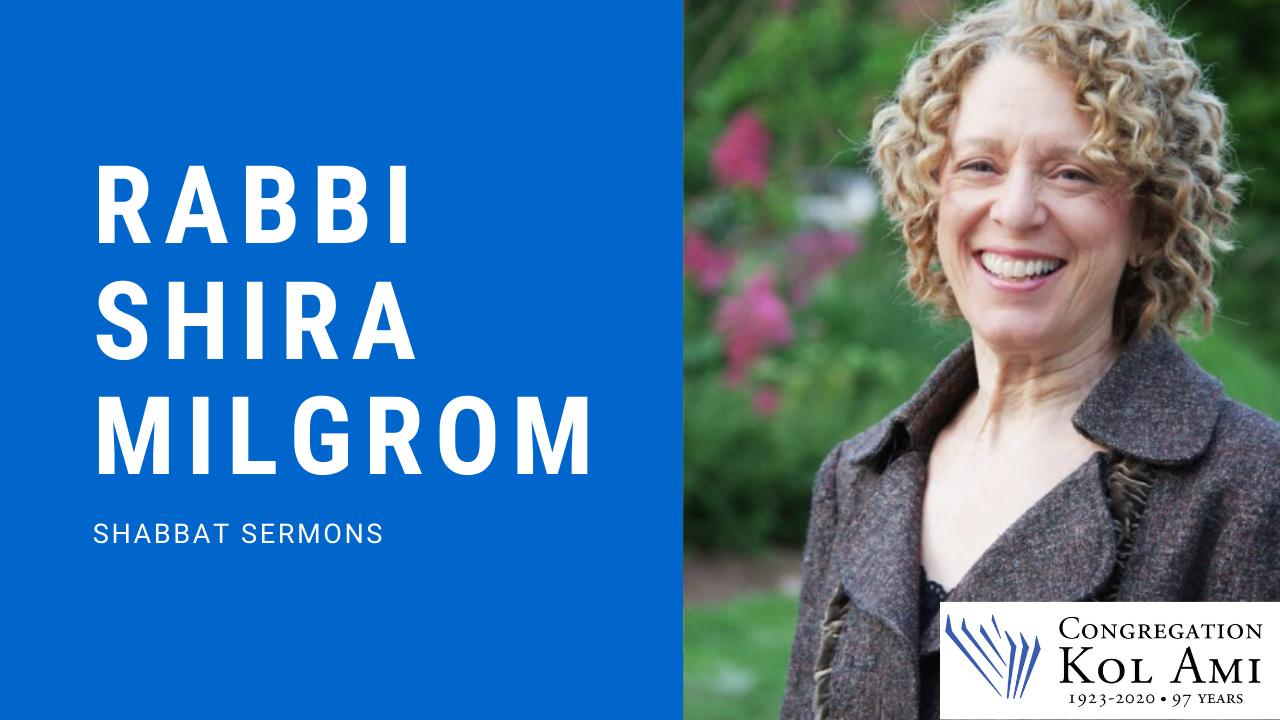 Shira Shabbat Sermon