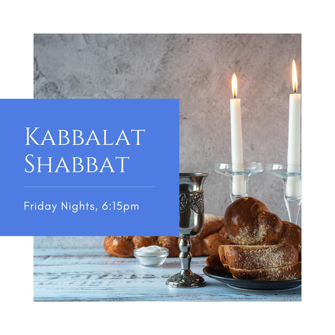 Registration - Kabbalat Shabbat