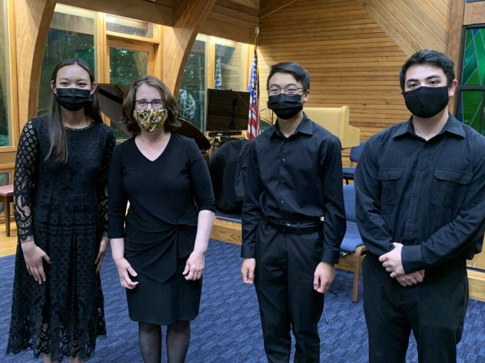 Kol Arts Students Recital with Masks